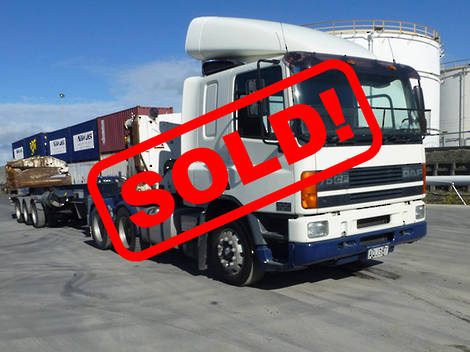 DAF FAT TRACTOR UNIT 2002