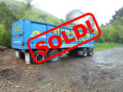 Domett 4 Axle  FLAT DECK TRAILER