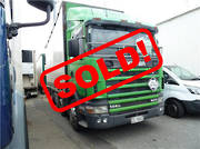 Scania 144GB 8X4 CURTAIN SIDER 2000