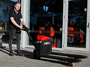 Heli DC-15 electric pallet forklift  NZ