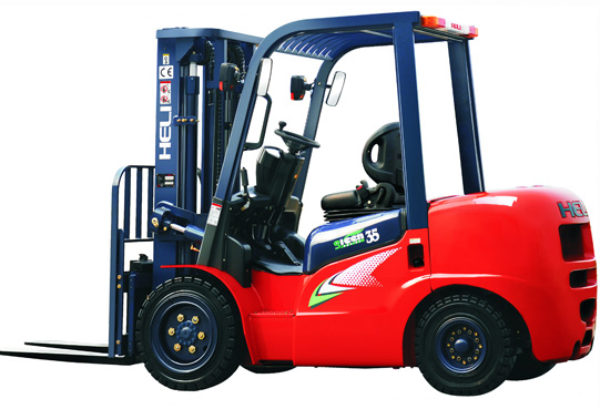 heavy duty power forklift