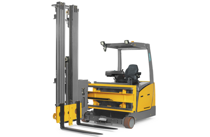 Reach truck forklift hire Wellington Auckland