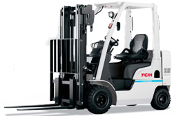 TCM Petrol/LPG forklift dealers Central Group