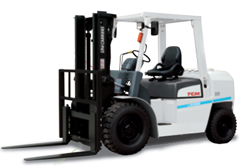 TCM petrol forklift Central Group Wellington