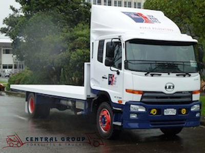 New UD light commercial Tipper crane trucks for sale NZ dealer service
