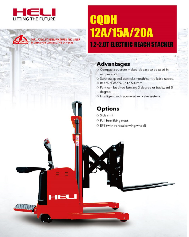 Electric Stacker forklift NZ