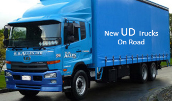 UD-Truck-on road