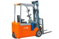 Heli Electric 3-wheel Forklifts